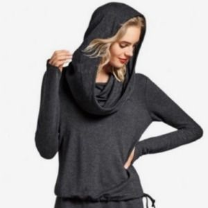 Cabi Recess Topper Cowl Neck Hoodie Pullover